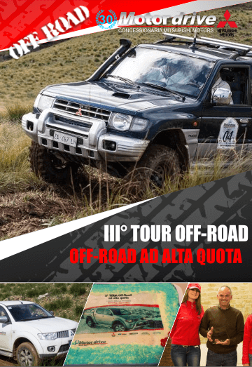 III� Tour off-road Mitsubishi Palermo, Tour Off-Road ad alta quota