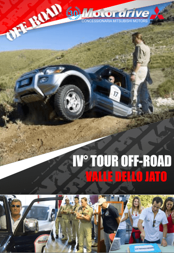 IV� Tour off-road Mitsubishi Palermo, Valle dello Jato