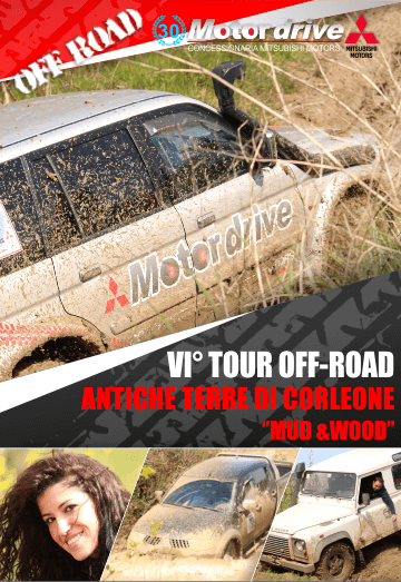 VI� Tour off-road Mitsubishi Palermo, Antiche terre di Corleone - Mud and Wood