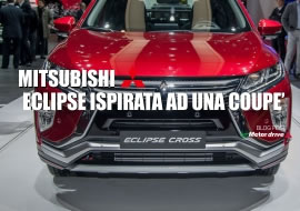 Mitsubishi Eclipse Cross: si ispira a una coupé