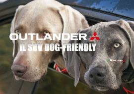 Mitsubishi Outlander dog-friendly Top SUV